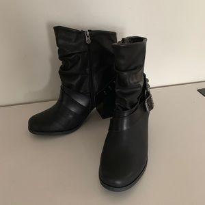 Blowfish Shoes - Blowfish Women Demma Ankle Bootie Size 11